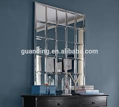 steel frame multipanel silver large