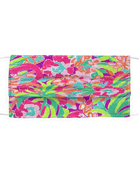 lilly pulitzer face mask - Allbluea Shop