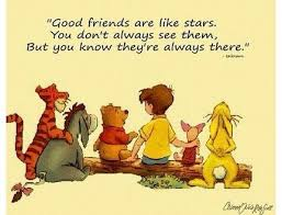 cartoon heartwarming quotes about friendship and love pooh