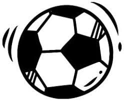 Amazon Com Doodle Soccer Ball Vinyl Decal Sticker Black Automotive