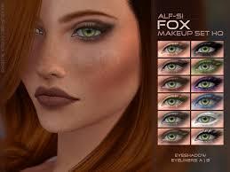 alf si s fox eyes makeup set hq