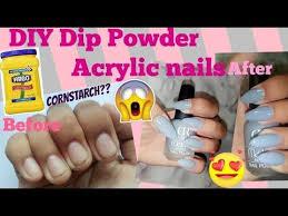 diy dip powder acrylic nails at home