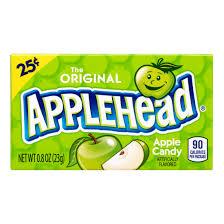 chewy lemonhead applehead apple candy
