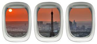 Eiffel Tower Wall Decor Sticker Paris Decals For Wall Airplane Window Contemporary Wall Decals By Vwaq Vinyl Wall Art Quotes And Prints