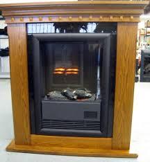 electric fireplace oak mantle cfp39130