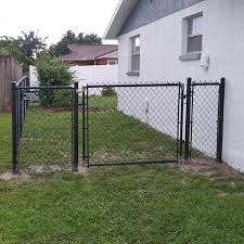 Types Of Chain Link Fences Fence Gate Installation In Weeki Wachee