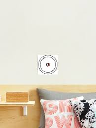 Model Of An Atom Science Spinning Diagram Photographic Print By Aaronisback Redbubble