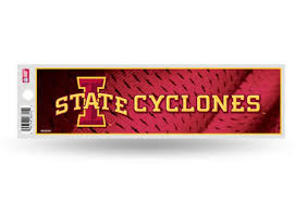 Iowa State Cyclones Bumper Sticker Officially Licensed Custom Sticker Shop