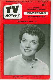 1952 TV News May 30 Denise Lor - Indiana Edition NO MAILING LABEL ...