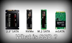 What is SSD? Different types of SSD, Uses and Comparision