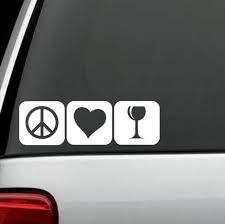 More Wine Decal Sticker For Car Window 7 Inch Wine Lover Bg 216 Opener Tumbler For Sale Online Ebay