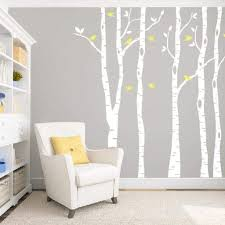 Birch Tree Wall Decal Tree Wall Stickers Db334 Designedbeginnings