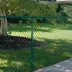 Yardgard 10 Ft X 4 Ft Steel Frame With Green Fabric Drive Through Gate 2 Panels 328442a The Backyard Putting Green Chain Link Fence Outdoor Putting Green