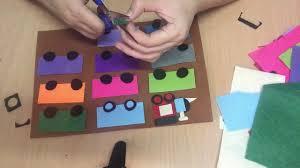 Cách làm đồ chơi học tập cho trẻ mầm non - Đoàn tàu vui nhộn - YouTube