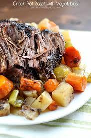 crock pot roast with vegetables yummy