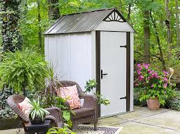 garden shed and outdoor storage space