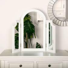 triple mirror daventry white range