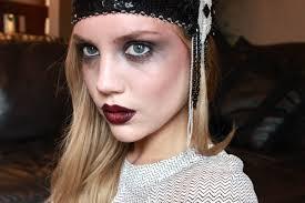 halloween flapper makeup elanna pecherle