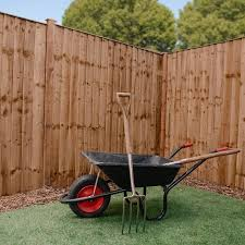 Adley 6 X 6 Pressure Treated Feather Edge Flat Top Fence Panel