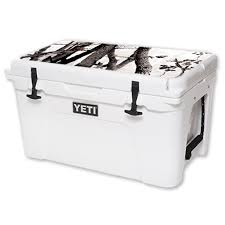 Mightyskins Protective Vinyl Skin Decal For Yeti Tundra 45 Qt Cooler Lid Wrap Cover Sticker Skins Artic Camo Brickseek