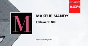 makeup mandy insram statistics