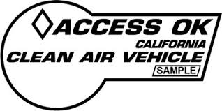 Clean Air Vehicle Decals For Using Carpool And Hov Lanes California Dmv
