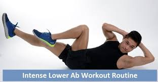 an intense lower ab workout routine