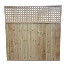 Trellis Edging 1800 X 1800 X 42mm Square Fence Panel Bunnings Warehouse