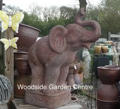 large elephant garden ornament