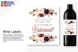 what is the importance of wine bottle labels in the market