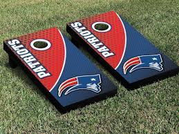 New England Patriots Football Cornhole Board Game Decal Sticker Set By P9customs On Etsy Vinyl Decals Cornhole Board Decals Cornhole Decals