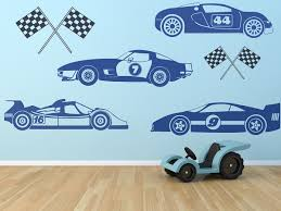 Kids Race Car Set Wall Decals Boys Wall Art Race Cars Race Etsy Removable Vinyl Wall Art Boy Wall Art Art Wall Kids