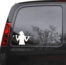 Amazon Com Auto Car Sticker Decal Golfer Golf Player Gir Woman Sport Truck Laptop Window 6 7 By 5 Unique Gift Ig4851c Home Kitchen