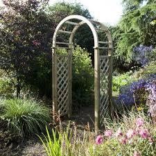 blooma chiltern wooden garden arch 2 5
