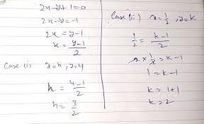 linear equation 2x y 1