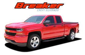 Breaker Silverado Stripes Silverado Decals Silverado Vinyl Graphics
