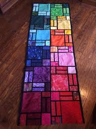 stunning stained glass quilts