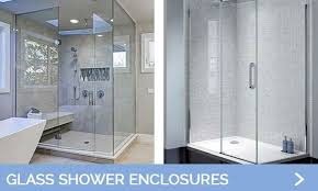 contemporary frameless shower enclosure