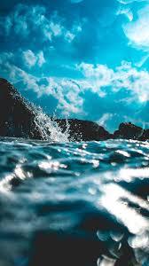 خلفيات موبايل ايفون بحر شاطئ Hd 2020 مربع
