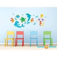 Sunny Decals Dolphin Wall Sticker Wayfair