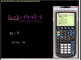 three equations using a matrix equation