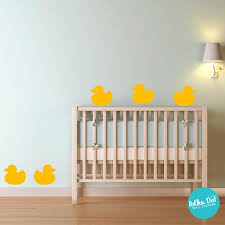 Rubber Ducky Wall Decals Peel And Stick Apartnent Safe Polka Dot Wall Stickers