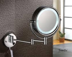 brass lighted vanity makeup mirror 1001