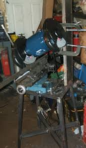 home made surface grinder in the