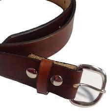 mens leather belt size 50 choose color