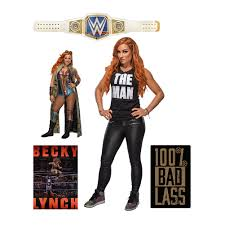 Becky Lynch Fathead 5 Piece Wall Decals Wwe Us