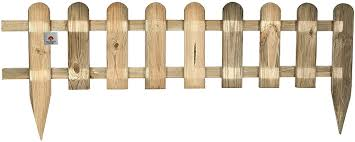 Ruddings Wood Wooden Picket Fencing Fence Amazon Co Uk Garden Outdoors