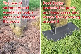 Post Tector Post Saver Protector Guard Shields 5 X 4 Fence Post Cap Finials Set Of 5 X8148