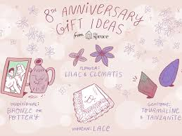 wedding anniversary symbols and gift ideas