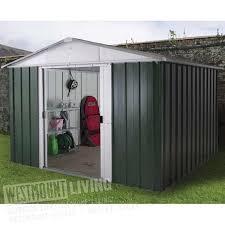 metal apex garden yardmaster shed